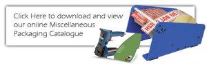 Misc Packaging Supplies Catalogue