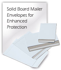 Solid Board Mailer Envelopes