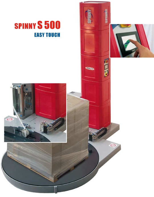 Spinny S500 Easy Touch Pallet Wrapping Machine