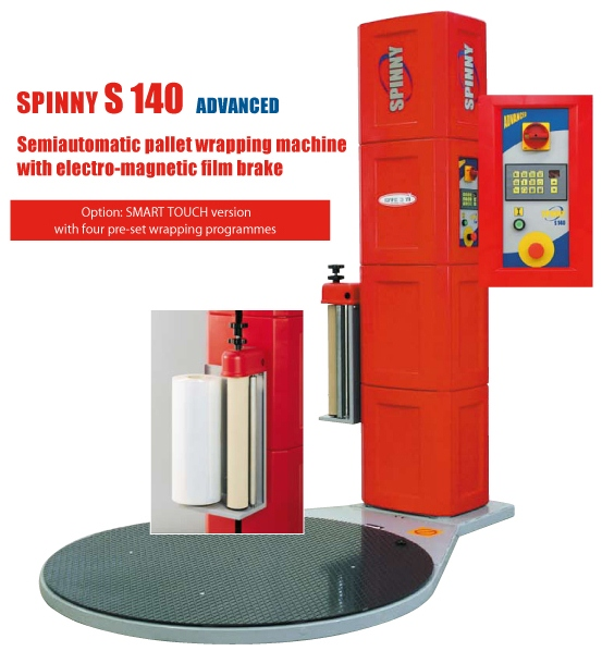 Spinny S140 Advanced Pallet Wrapping Machine