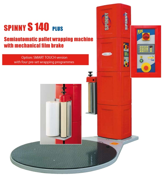 Spinny S140 Pallet Wrapping Machine