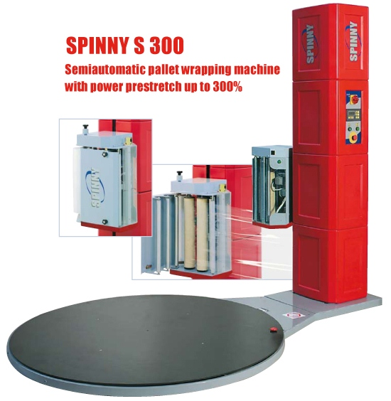 Spinny S300 Pallet Wrapping Machine