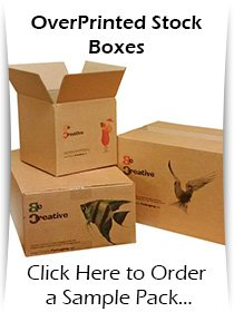 Over Printed Stock Boxes for Ecommerce