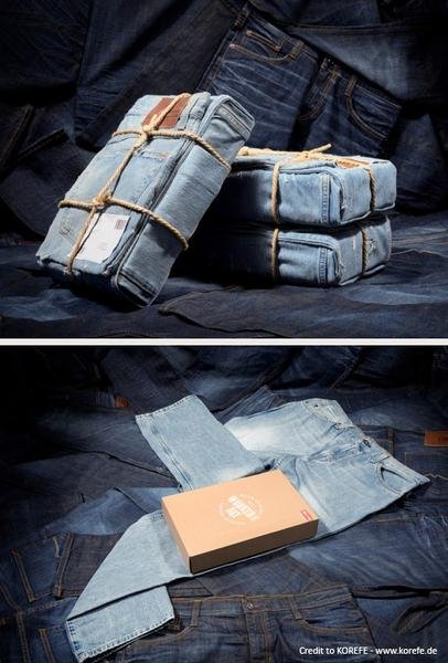 eCommerce Packaging for Jeans