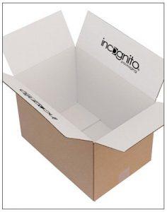 White Inside with Logo Print eCommerce Box