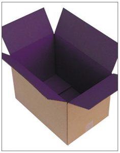 Coloured Internal eCommerce Box