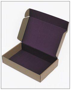 Flood colour internal print eCommerce box