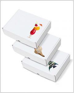Printed Postal Packaging Box