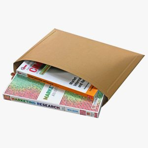 Solid Board Capacity Book Mailer