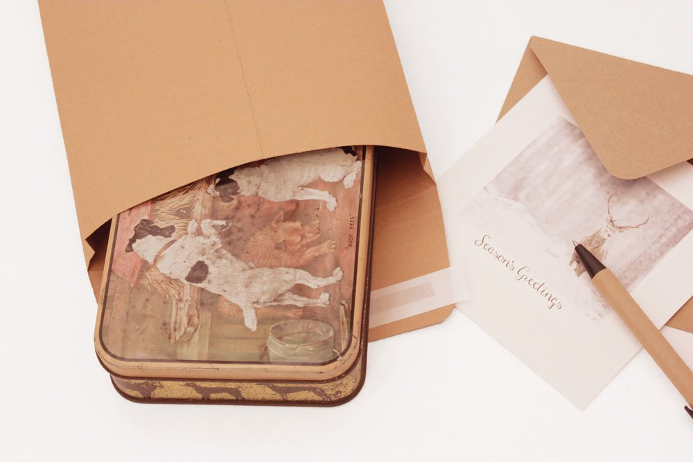 Plain Paper Mailing Bags